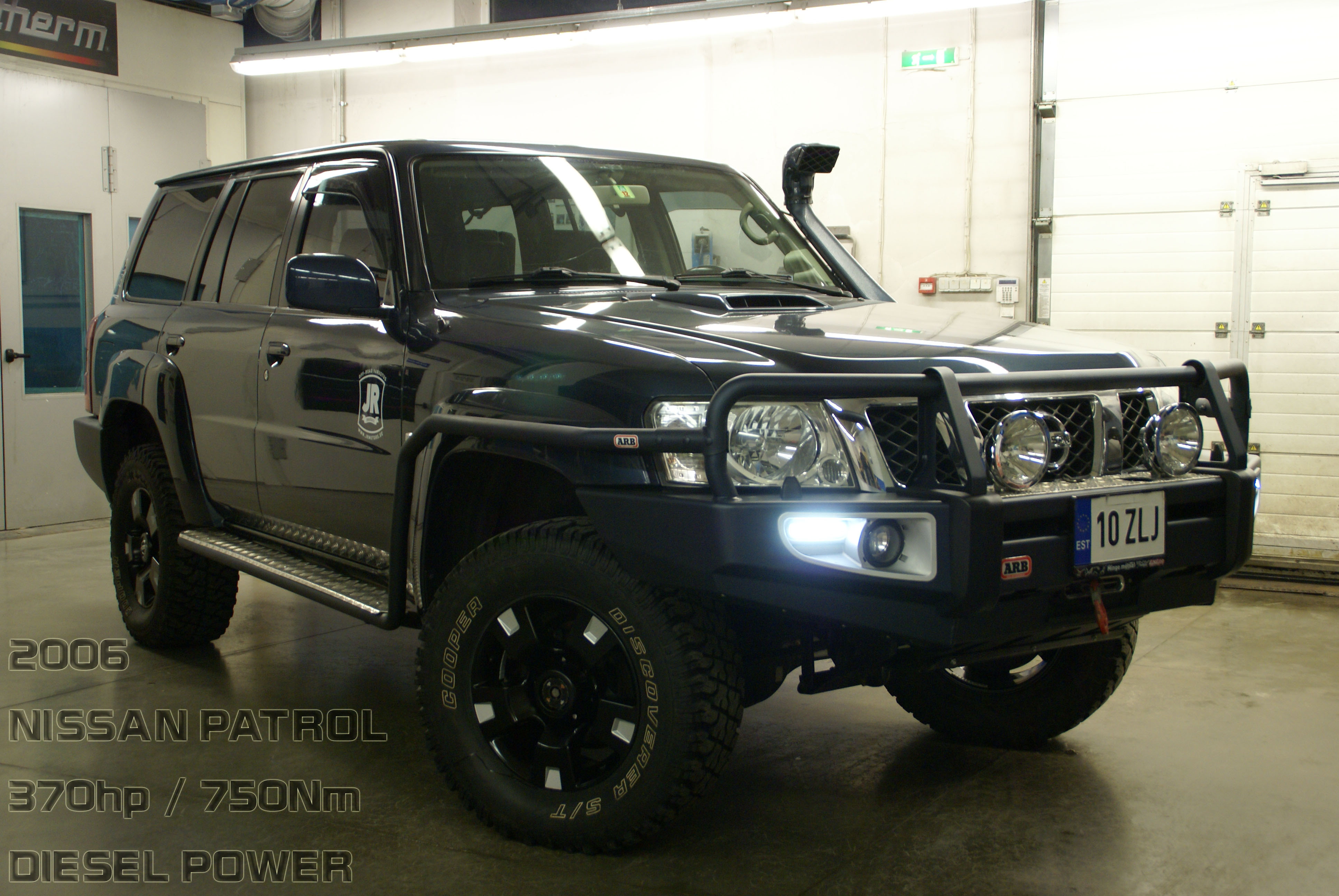 Nissan Patrol with BMW M57 engine and ARB products